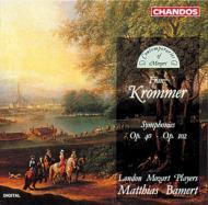 クロンマー:交響曲第2番、第3番 バーメルト/ロンドン・モーツァルト・プレイヤーズ