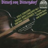 Concertos For Viola & Doublebass Maly(Vla), Posta(Db)
