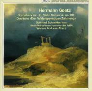 交響曲NO.2/ヴァイオリン協奏曲 W.A.アルベルト/北ドイツ放送ハノーバー・フィル