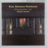 ハルトマン、カール・アマデウス(1905-63)/String Quartets.1 2: Pellegrini.q