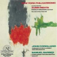 Clarinet Concerto: Drucker(Cl)mehta / Nyp +barber: Essay.3