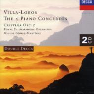ピアノ協奏曲全集 オルティス(p)、マルティネス&ロイヤル・フィル(2CD)