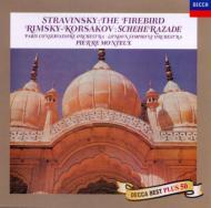 R=コルサコフ:シェエラザード、ストラヴィンスキー:組曲『火の鳥』 モントゥー&パリ音楽院管、ロンドン響
