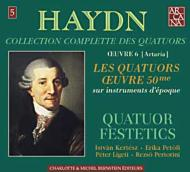 ハイドン(1732-1809)/String Quartet 44 45 46 47 48 49 (Op.50): Festetics Q