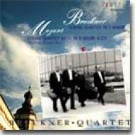 ブルックナー&モーツァルト:弦楽四重奏曲/ブルックナー弦楽四重奏団