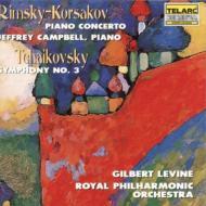 Sym.3 / Piano Concerto: G.levine / Rpo, Campbell(P)