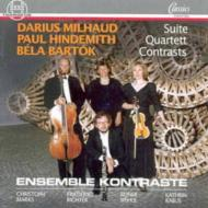 Suite / Quartet / Contrasts: Ensemble Kontraste