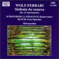Chamber Symphony: Minensemblet +j.strauss.2, Bloch