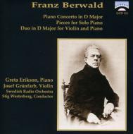 Piano Concerto: Greta Erikson(P), Westerberg / Swedish.rso