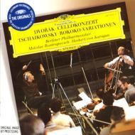 ドヴォルザーク(1841-1904)/Cello Concerto: Rostropovich(Vc) Karajan / Bpo +tchaikovsky: Rococo