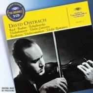 チャイコフスキー:ヴァイリン協奏曲、ブラームス:ヴァイオリン協奏曲、他 オイストラフ(vn)コンヴィチュニー
