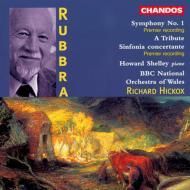 ラッブラ/交響曲第1番他 ハワード・シェリー(p)/リチャード・ヒコックス/BBCウェールズ国立管弦楽団