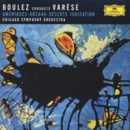 Ionisation, Arcana, Ameriques: Boulez / Cso