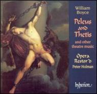 W・ボイス:「ペレウスとテティス」と他の舞台音楽集 ピーター・ホルマン/オペラ・レストード