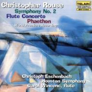 フルート協奏曲, 交響曲第2番 エッシェンバッハ&ヒューストン響