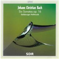 6つのソナタOp.16(ヴァイオリン、トラヴェルソ、フォルテピアノのための) ザルツブルガー・ホフムジーク