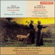 フィリップ・セントン/天底 パトリック・ハドリー/春のある朝 他 バーメルト/フィルハーモニア合唱団&管弦楽団