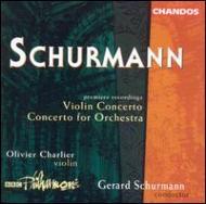 シャーマン:管弦楽のための協奏曲、ヴァイオリン協奏曲/シャリアー(vn)、シャーマン(指揮)、BBCフィル