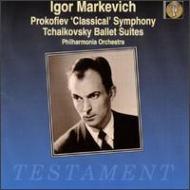 チャイコフスキー:『くるみ割り人形』組曲、プロコフィエフ: 交響曲第1番、他 マルケヴィッチ&フィルハーモニア管
