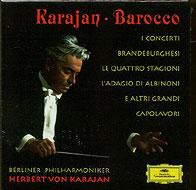 カラヤン・バロック〜バッハ:ブランデンブルク協奏曲全曲、ヴィヴァルディ:四季、ほか(5CD)
