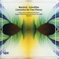 2台のピアノのための協奏曲/4手のためのピアノ協奏曲/他 ピアノデュオ・ジェノワ&ディミトロフ/大植英次/他