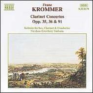 クラリネット協奏曲集Op.35・36・91 ベルケシュ/ニコラス・エステルハージ・シンフォニア