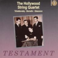 弦楽四重奏曲集.1 / 2 Hollywood.sq Glazunov 5 Novelettes