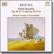 管楽五重奏曲全集第4番Op.99-6/第18番Op.88-4 マイケル・トンプソン管楽五重奏団