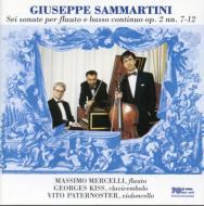 Flute Sonatas Vol.2: Mercelli(Fl), Paternoster(Vc), G.kiss