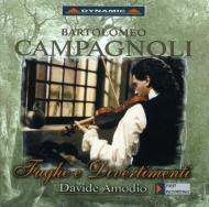 Fugue For Violin Solo, Divertimento: Amodio(Vn)