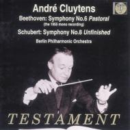 ベートーヴェン『田園』、シューベルト『未完成』 クリュイタンス&BPO(1955、1960)