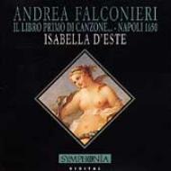 Il Libro Primo Di Canzone, Sinfonie, Fantasie: Isabella D'este