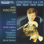 Hungarian 20th Century Horn Concertos: Magyari(Hrn)
