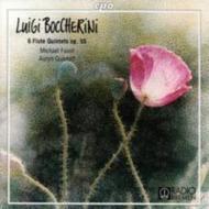 フルート五重奏曲集Op.55 ファウスト/アウリン弦楽四重奏団