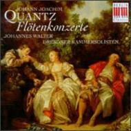 Flute Concertos: J.walter / Dresdner Kammersolisten