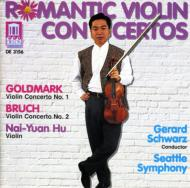 Violin Concerto.1: Nai-yuan Hu(Vn)Schwarz / Seattle.so +bruch: Concerto.2