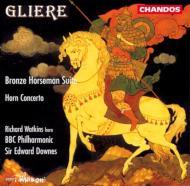グリエール:バレエ「青銅の騎士」、ホルン協奏曲 ワトキンス/ダウンズ/BBC