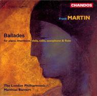 マルタン:ピアノと管弦楽のためのバラード ほか バーメルト/ロンドン・フィルほか