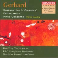 ジェラード:ピアノとげんがくのための協奏曲他 G・トーザー(p) バーメルト/BBC