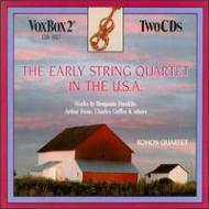 Early String Quartet In Usa: Kohon Q