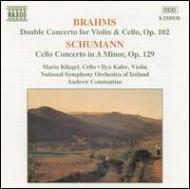 ヴァイオリン&チェロ,シューマン:チェロ協奏曲 クリーゲル/カーラー/コンスタンティン/アイルランド国立響