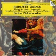 交響曲『画家マティス』、ウェーバーの主題による交響的変容、ほか アバド&ベルリン・フィル