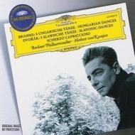 ブラームス:ハンガリー舞曲集、ドヴォルザーク:スラヴ舞曲集 カラヤン&ベルリン・フィル