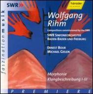 Morphonie, Works: E.bour, Gielen(Cond)