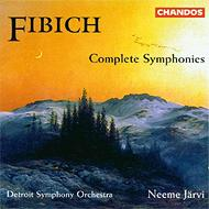 フィビヒ:交響曲第1番、2番、3番 ヤルヴィ&デトロイト交響楽団