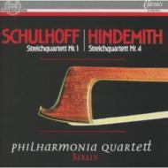 String Quartet, 1, : Philharmonia Quartett Berlin +hindemith: String Quartet, 4,
