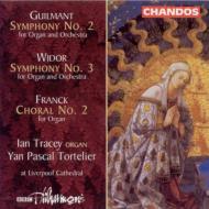 ギルマン、ヴィドール:オルガンと管弦楽のための交響曲他 トレイシー(org)/トルトリエ/BBCフィルハーモニック
