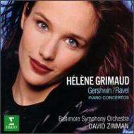 Piano Concerto: Grimaud(P)Zinman / Baltimore So +gershwin