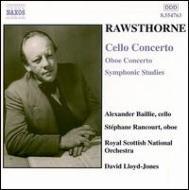 交響的練習曲/オーボエ協奏曲/チェロ協奏曲 ジョーンズ/ロイヤル・スコティッシュ管弦/他