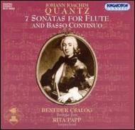 Flute Sonatas: Csalog(Baroque Fl)papp(Cemb)